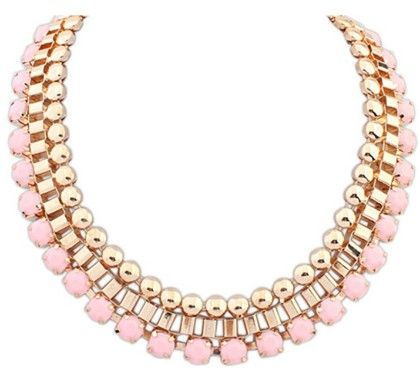 Blush Pink Necklace - Oomph