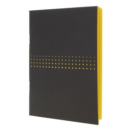 Black Lazer Cut With Neon Yellow Notebook - Creative Crazy