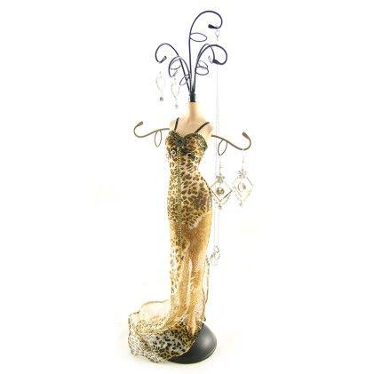 Gold Leopard Mannequin Brown - Jacki Design