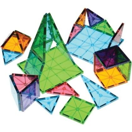 Clear Colors Magna-tiles - Constructive Playthings