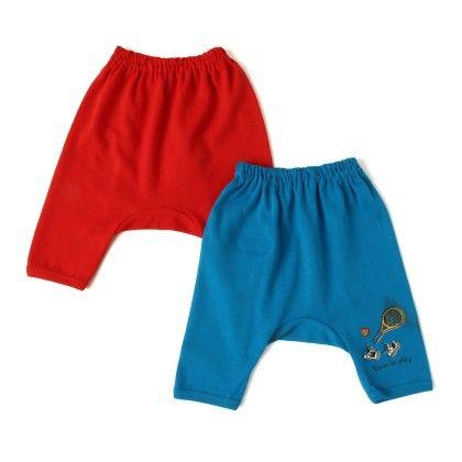 Red & Blue Leggings Pack Of 2 - Ollypop