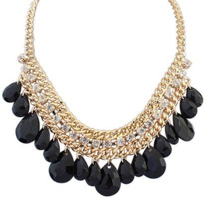 Black Diamond Necklace - Oomph