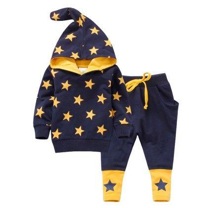 Start Navy Track Suit Set - Lil Mantra