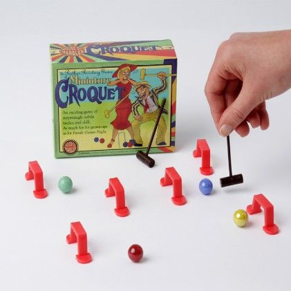 Miniature Croquet - House Of Marbles