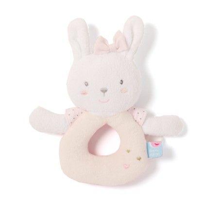 Bunny Rattle Soft Toys - Sucre D'Orge