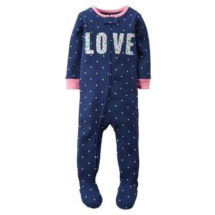 1-piece Snug Fit Cotton Pjs - Carter's - 220568