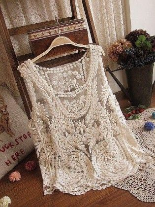 Cotton Lace White Shrugs - Dells World