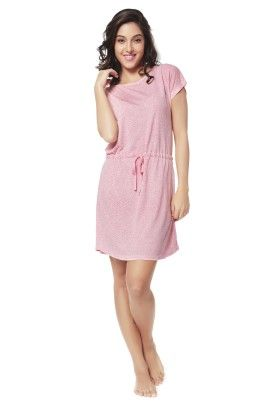 Holiday In Morocco Short Dress Pink - Mystère Paris