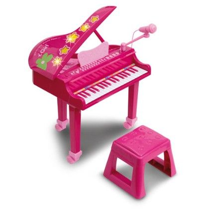 Electronic Grand Piano With Microphone - Bontempi