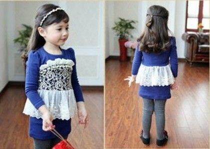 Lace Beading Dress - Petite Kids