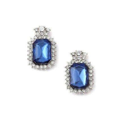 Blue Stone Earring - Jazz Fashions