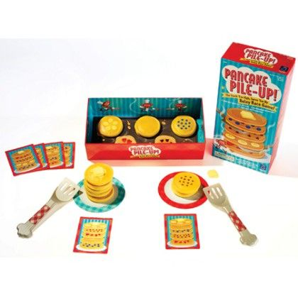 Pancake Pile-up! Relay Game - Educational Insights