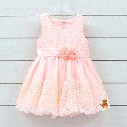 The Rose Shade Dress - Little Muffet