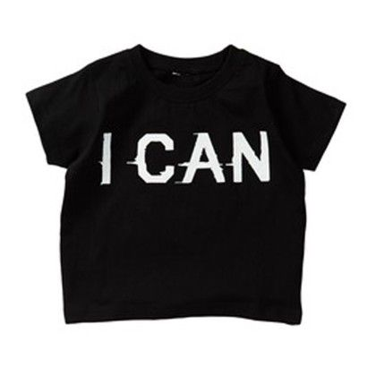 I Can Short Sleeve Black T-shirt - Silly Souls