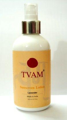 Sunscreen Lotion - Lavender - Tvam