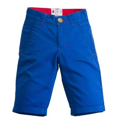 Blue Slim Fit Shorts - West Bay