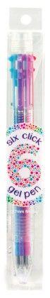 6 Click Neon Gel Pen - International Arrival