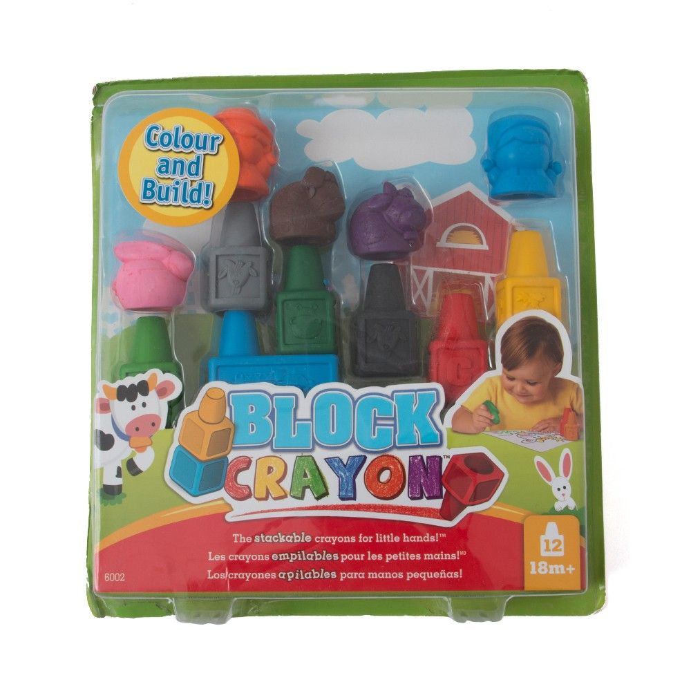Block Crayon (set Of 12) - It's All About Me