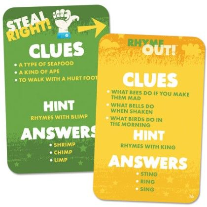 Rhyme Out! - Educational Insights