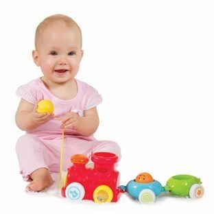 Pull-along Stacking Choo Choo - WINFUN