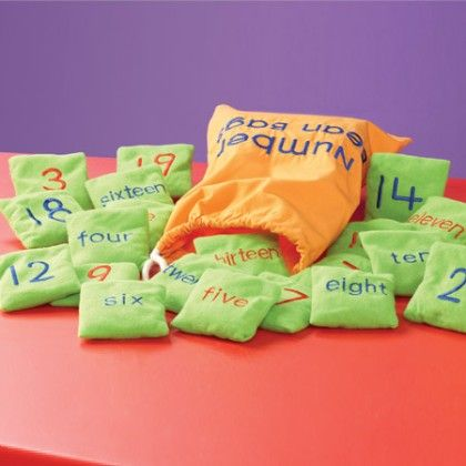 Number Beanbags - Educational Insights