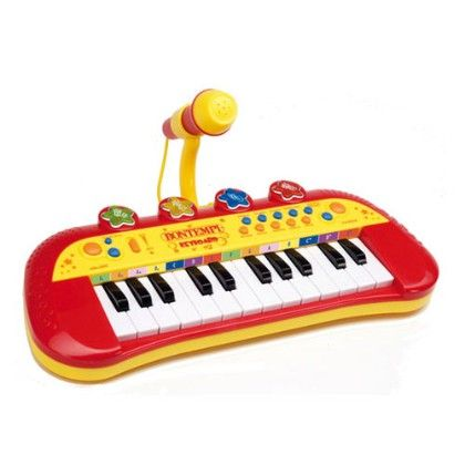 Electronic Keyboard With Microphone (24 Keys) - Bontempi