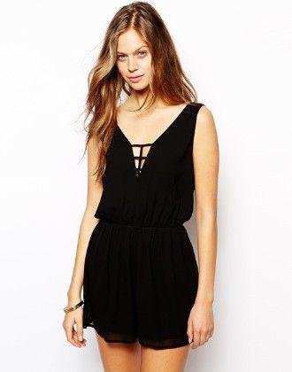 Backless Short Black Dress - Drape In Vogue