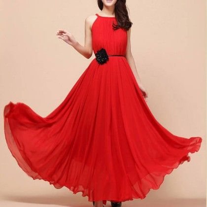 Red Grace Dress - Oomph