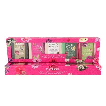 Nyassa Floral Collection Gift Set- Pack Of 5