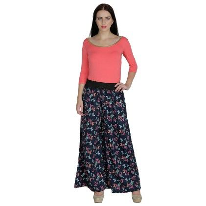 Regular Fit Womens Trousers Multi Color - Shopingfever