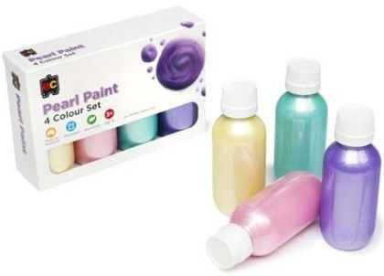 Pearl Rainbow Paint Set - Educational Colours