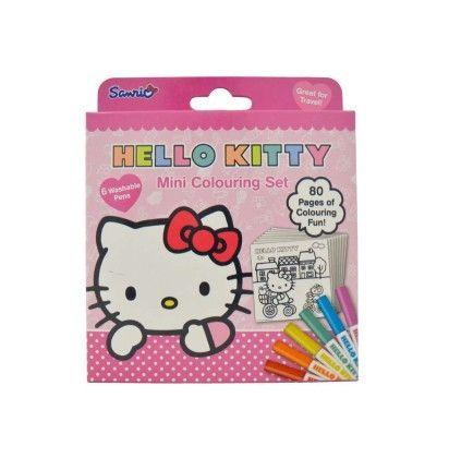 Mini Colouring Set - Hello Kitty