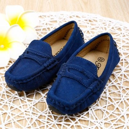 Smart Loafers- Blue - Smart Shoes