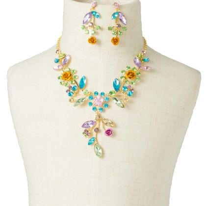 Multi Color Floral Set - Fashion Fiesta