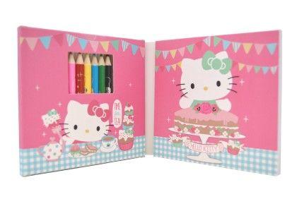 Colouring Set - Hello Kitty
