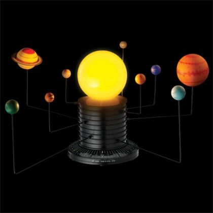 Geosafari Motorized Solar System - Educational Insights