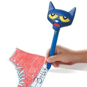 Pete The Cat Puppet-on-a-pen - Educational Insights