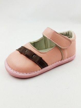 Contrast Stripe Mary Jane - Pink - Ocean Link