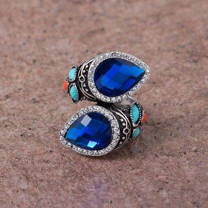 Anaira Blue Stone Ring