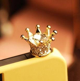 Crown Dust Plug - Flaunt Chic