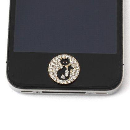 Black Cat Mobile Dust Plug - Jazz Fashions