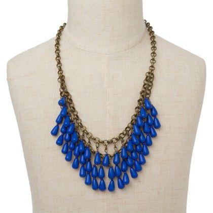 Blue Stones Necklace - Jazz Fashions