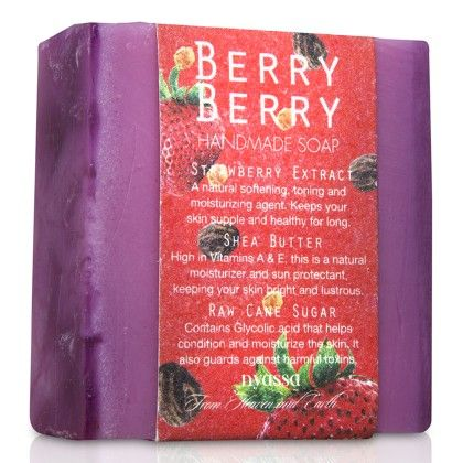 Nyassa Berry Berry Handmade Sugar Soap