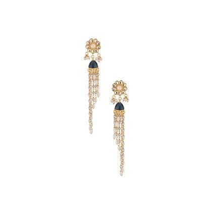 Adorable Jhumki Pair In Gold Tone - Voylla