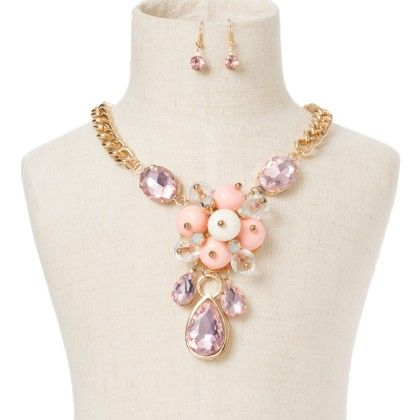 Pink Diamond With White And Pink Beads - Wilfred Jewellery