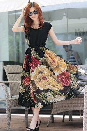 Floral Maxi Dress - The Dressing Loft
