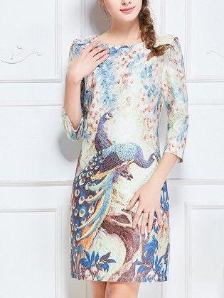 Blue Dress - Drape In Vogue