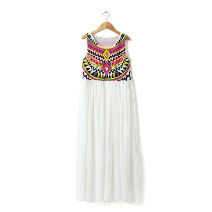 Vintage Dress White - STUPA FASHION