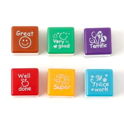 Self Ink Stamps - Set Of 6 - It's All About Me