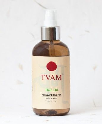 Hair Oil - Henna  Anti Hair Fall - Tvam